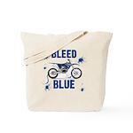 Bleed Blue Tote Bag