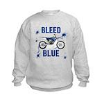 Bleed Blue Kids Sweatshirt