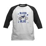 Bleed Blue Kids Baseball Jersey