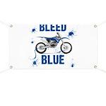 Bleed Blue Banner