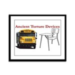 Ancient Torture Devices-2 Framed Panel Print