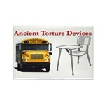Ancient Torture Devices-2 Rectangle Magnet (10 pac