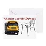 Ancient Torture Devices-2 Greeting Cards (Pk of 10