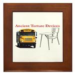 Ancient Torture Devices-2 Framed Tile