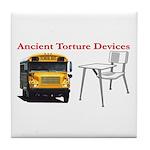 Ancient Torture Devices-2 Tile Coaster