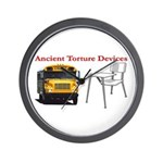 Ancient Torture Devices-2 Wall Clock