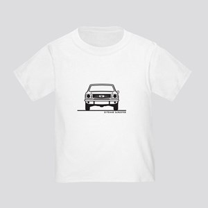 65 Mustang Front and Back Toddler T-Shirt