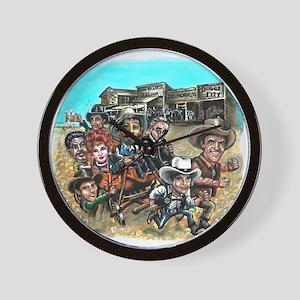 Official GUNSMOKE 55th Anniversary Wall Clock