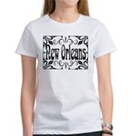 New Orleans Wrought Iron Design Women's T-Shirt