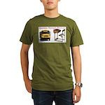 Ancient Torture Devices-1 Organic Men's T-Shirt (d