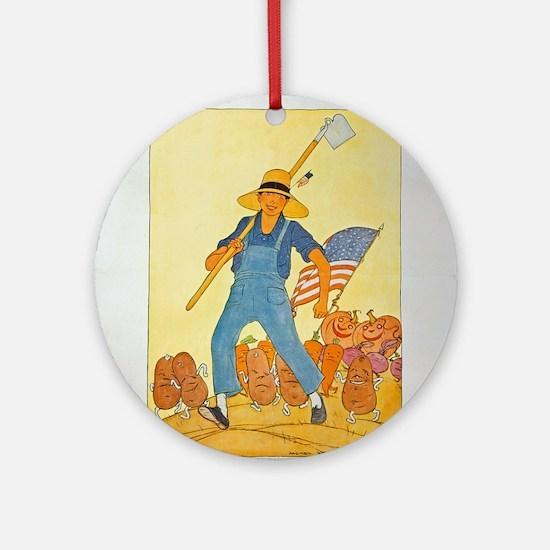 War Gardens Victorious Ornament (Round)
