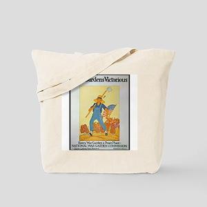 War Gardens Victorious Tote Bag