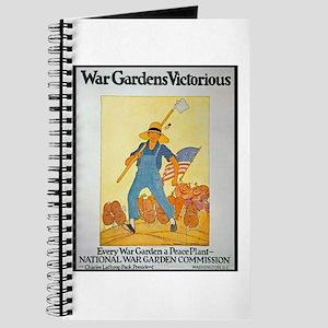 War Gardens Victorious Journal