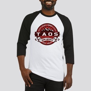 Taos Red Baseball Jersey