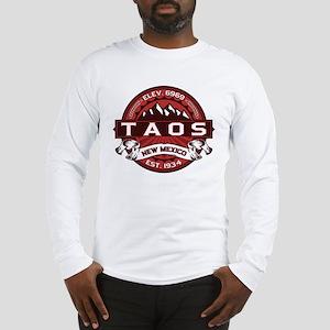 Taos Red Long Sleeve T-Shirt