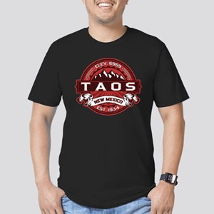 Taos Red Men's Fitted T-Shirt (dark)