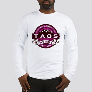 Taos Raspberry Long Sleeve T-Shirt