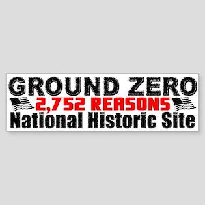 """2,752 Reasons"" Sticker (Bumper)"
