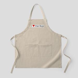 I Love Frat Boys BBQ Apron