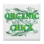 Organic Chick Tile Coaster