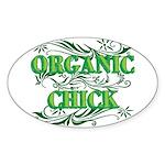 Organic Chick Sticker