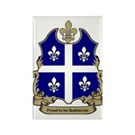 Proud Quebecois Rectangle Magnet
