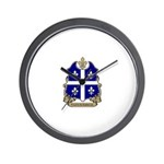 Proud Quebecois Wall Clock