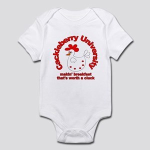 Cackleberry University Eggs Infant Bodysuit