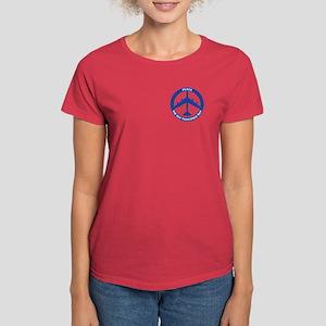 B-52G Peace Sign Women's T-Shirt (Dark)