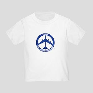 B-52G Peace Sign Toddler T-Shirt