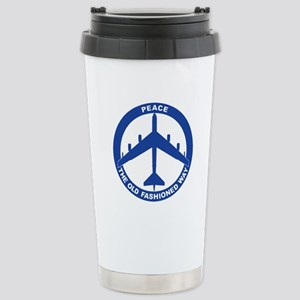 B-52G Peace Sign Stainless Steel Travel Mug