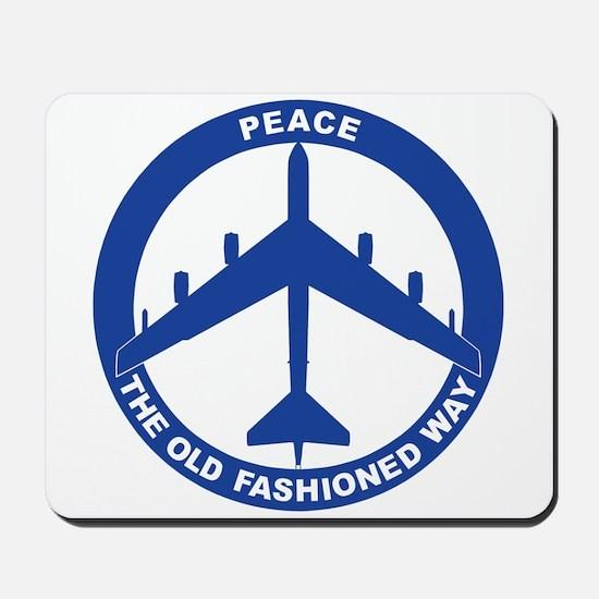 B-52G Peace Sign Mousepad