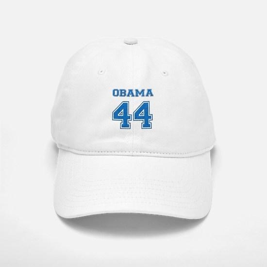 OBAMA 44: Baseball Baseball Cap