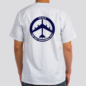 B-52G Peace Sign Light T-Shirt