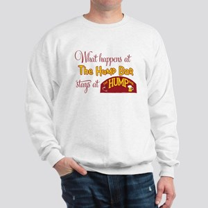 What Happens in the Hump Bar Sweatshirt