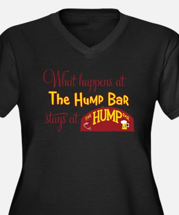 What Happens in the Hump Bar Women's Plus Size V-N