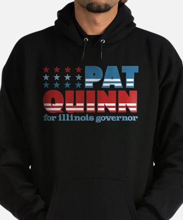 Quinn for Governor Hoodie (dark)