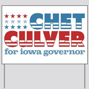 Culver for Governor Yard Sign
