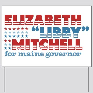 Mitchell for Governor Yard Sign