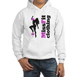 Missfit Clothing Hooded Sweatshirt