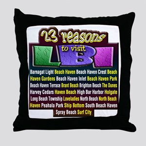 23 Reasons... Throw Pillow