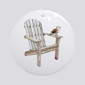 Adirondack Chair Keepsake (Round)
