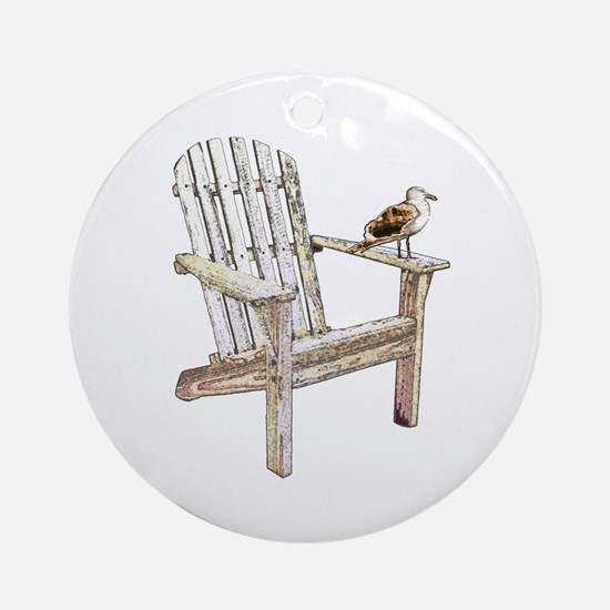 Adirondack Chair Keepsake (Round)
