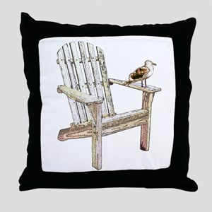 Adirondack Chair Throw Pillow