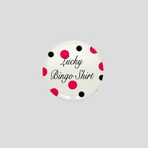 Lucky Bingo Shirt Mini Button