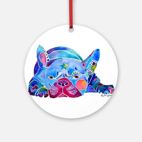 French Bulldog Frenchies Ornament (Round)