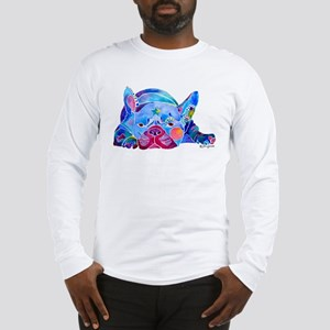 French Bulldog Frenchies Long Sleeve T-Shirt