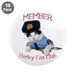 "Harley Fan Club 3.5"" Button (10 pack)"