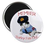 Harley Fan Club Magnet