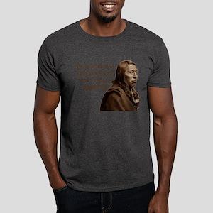 """Ask An Indian"" Dark T-Shirt"
